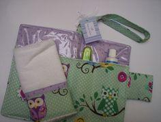 Kit Higiene 2 pçs coruja   Amor por inteiro Kids   Elo7