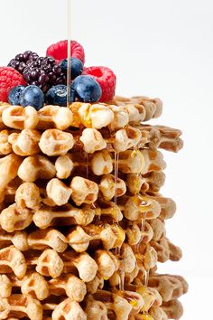 Coffee Waffles Recipe | designlovefest.com