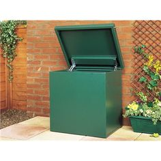 mail box for ups and fedex x Home Delivery Parcel Box - Large x + Solid Metal Floor Mail Drop Box, Parcel Drop Box, Package Mailbox, Package Box, Parcel Delivery, Package Delivery, Gates Driveway, Driveway Ideas, Modern Mailbox