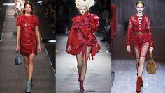 Les 20 tendances robes de l'été 2015: rouge