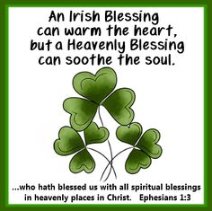 Irish Blessing Printable Tag