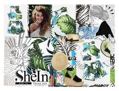 """SheIn: Jungle Print Crop Tank Top And Pleated Shorts"" by madeleinebabes ❤ liked on Polyvore featuring Illesteva, Janessa Leone, Chloé, Charlotte Russe, Olivia Burton, Sharon Khazzam, BERRICLE, Sephora Collection and Old Navy"