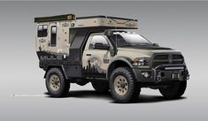 Overlander is leading the way manufacturing off grid, luxury expedition vehicles made to reinvent the idea of Unbound Freedom. Truck Bed Camper, Pickup Camper, Rv Truck, Truck Camping, Dodge Trucks, Dodge Cummins, Overland Truck, Overland Trailer, Expedition Vehicle