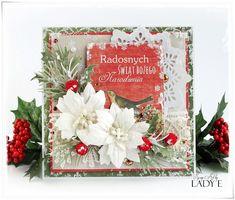 Scrap Art by Lady E: 2 Kartki Świąteczne i Kurs Video / 2 Christmas Cards & Video Tutorial