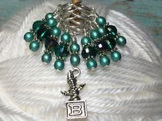 Jack in the Box Beaded Stitch Marker Set- Snag Free Knitting Tools- Crochet Markers- Gifts for Knitters