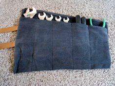 Dicas para reaproveitar um jeans usado. #DIY