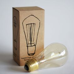 Small 19 Anchor Squirrel Cage Filament Bulb