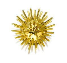 """A 14k gold """"Sputnik"""" brooch, Cartier,"""