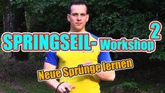 Springseil-Workshop 2/3 Neue Übungen lernen