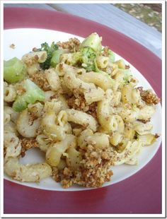 Veganized Baked mac & cheese