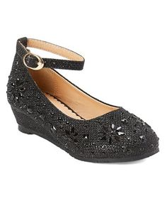 Another great find on #zulily! Black Ankle-Strap Sophie Dress Shoe #zulilyfinds