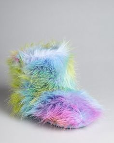 STEVE MADDEN Girls' Fuzzy Slipper Boots - i want these for christmas!!! :)