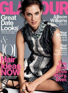 Glamour's February cover star is Allison Williams! Photo: Steven Pan