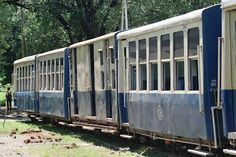 Neral Matheran Toy Train - Yellow and Blue Coaches