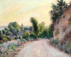 Claude Monet, Chemin