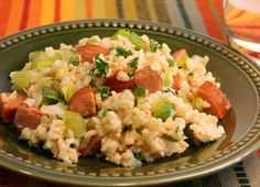 Enjoy the flavors of Johnsonville�Cajun-style! This recipe from Johnsonville Kitchens is a fantastic interpretation of a Cajun classic. All of the key ingredients are here: brown rice, green peppers, onions and celery.  Once you taste the bold flavors of Johnsonville Andouille Sausage, you won�t want to do Cajun any other way. http://www.pinterest.com/pin/268949408971209183/
