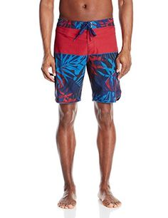 ONeill Mens 29 Palms Boardshort Dark Red 36 * Details on product can be viewed by clicking the VISIT button