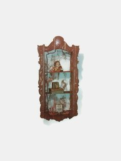 Antique Niche Shelf Wall Cubby  Victorian by thelongacreflea