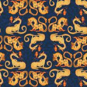 Dragon fire - eclectic_house - Spoonflower
