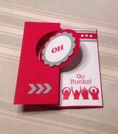 Go Bucks! by smitel - Cards and Paper Crafts at Splitcoaststampers. Jillian Vance Designs