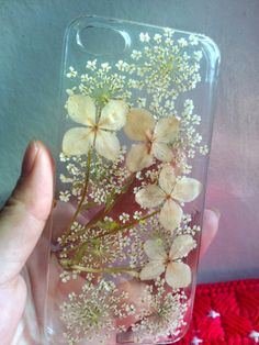 Pressed flower iphone 5 case,Natural flower Bydrangea iphone 5s/5c case,iphone 4 4s case,Dried flower iphone case,Pressed flower iphone case