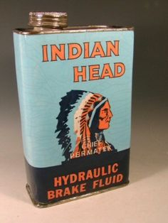 So why would Dean have a 40 yr old can of brake fluid in the trunk??? Fan Fiction Supernatural. Vintage can of Indian Head Brake Fluid