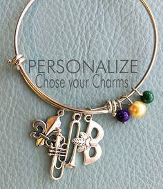 A personal favorite from my Etsy shop https://www.etsy.com/listing/228020877/new-orleans-customize-alex-ani-inspired