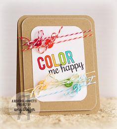 Reverse Confetti: Dream in Color