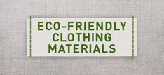 eco-clothing-materials