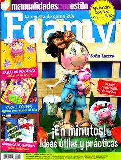 Manualidades en foamy - recibe esta revista en tu correo
