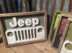 Rustic Pallet Jeep D