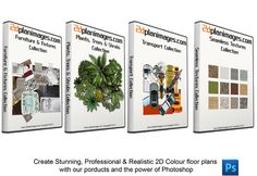 The Ultimate Bundle is the complete package. Included is all the images you will ever need to create the highest quality 2D colour floor plans. The Ultimate Bundle consists of 943 high quality 300dpi .png & .jpg images from our 4 Collections.