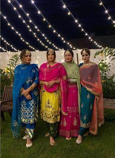 Indian Dress Up, Indian Fashion Dresses, Indian Designer Outfits, Indian Wear, Punjabi Suits Designer Boutique, Boutique Suits, Embroidery Suits Punjabi, Embroidery Suits Design, Stylish Dress Designs