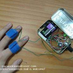 How to make a portable handy lie detector in Altoid tin ML: It could be an important tool, but remember, it may not work with politicians asking for shelter, they are pro liers.