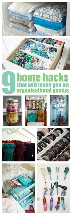 Home hacks like these can make you look like an organisational genius, but they are simple and easy to do. And, for most you won't have to spend a dime...