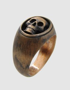 Skull Ring #menswear #jewellery #accessories