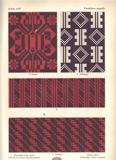Latvian ornaments & charts - Monika Romanoff - Picasa Web Albums (79 of 156)