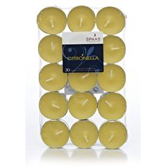 Garden Citronella Tea Light 30pk at wilko.com