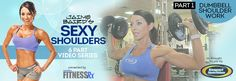 Sexy Shoulders – Video 1 | FitnessRX for Women Leaning Lateral Raise & Military press