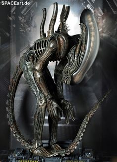 Alien 1: Big Chap Alien Warrior - Deluxe Figur ... http://spaceart.de/produkte/al003.php