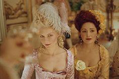 """Kirsten & Rose in """"Marie Antoinette""""."""