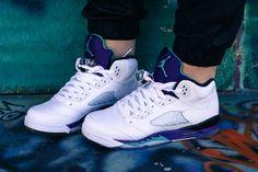 a43b91101633 Air Jordan Retro Grape 5s on Eleventh and Sixteenth Jordan Tennis Shoes