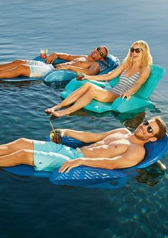 Relax and float the