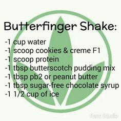 shake to lose weight herbalife Butterfinger Herbalife Shake Comidas Herbalife, Herbalife Protein, Herbalife Shake Recipes, Protein Shake Recipes, Herbalife Nutrition, Smoothie Recipes, Protein Shakes, Herbalife Meals, Isagenix
