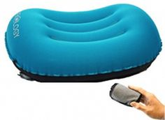 Do you love camping and you'd like to buy the best camping pillows? A good pillow offers great relaxation especially when you're sleeping. Camping World, Go Camping, Pillow Shams, Pillow Covers, Camping Pillows, Camping Holiday, Pillow Reviews, Air Mattress, In Case Of Emergency