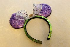 These Ariel-inspired ears are perfect for Maddie!