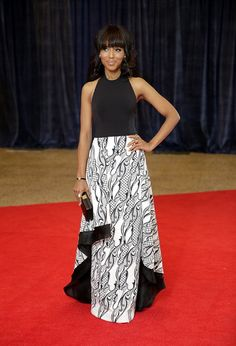 Lovely Kerry at the White House Correspondents Dinner