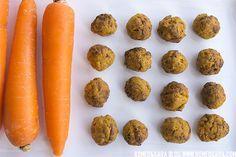 Galletas caseras para perro de zanahoria