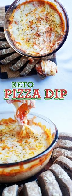 Super easy pizza dip
