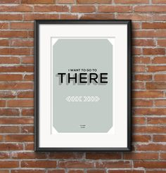 30 Rock Quote Poster Liz Lemon I want to go to there by ScreenZups